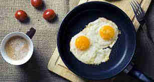 Eggs and Coffee are a Quick and Easy Breakfast